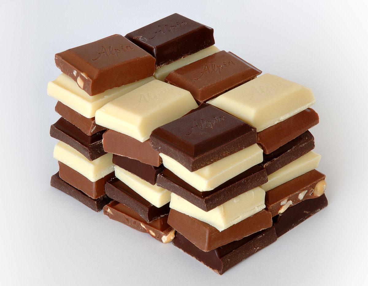 different types ofchocolates