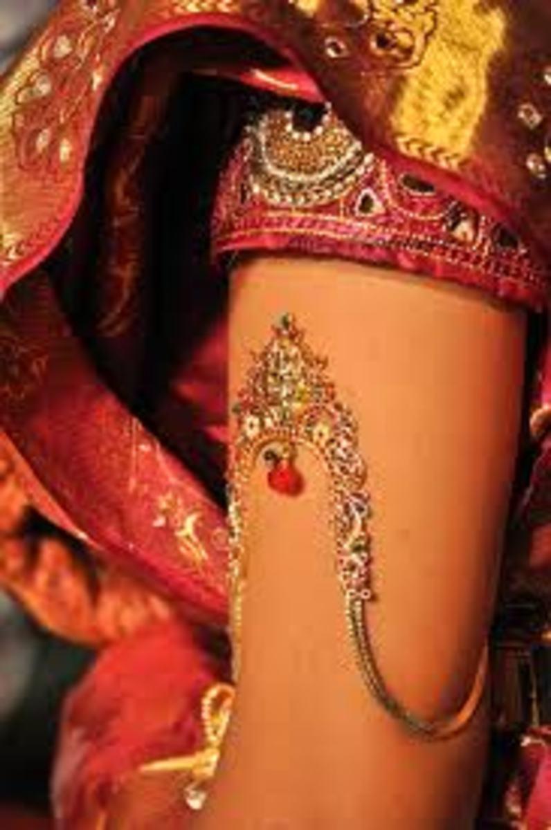 An Indian armlet
