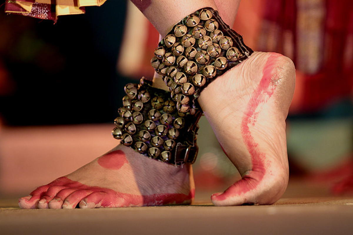 Dancer anklets