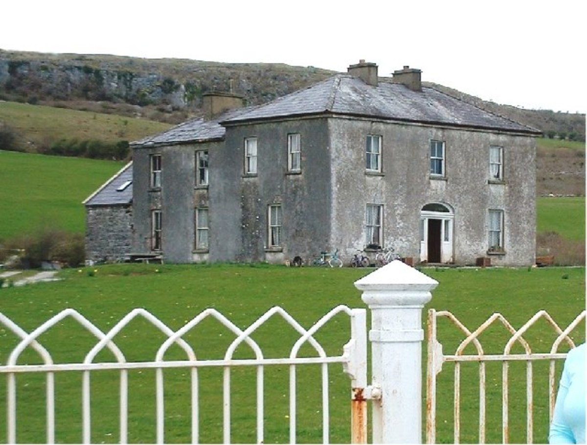Father Ted's house on Craggy Island