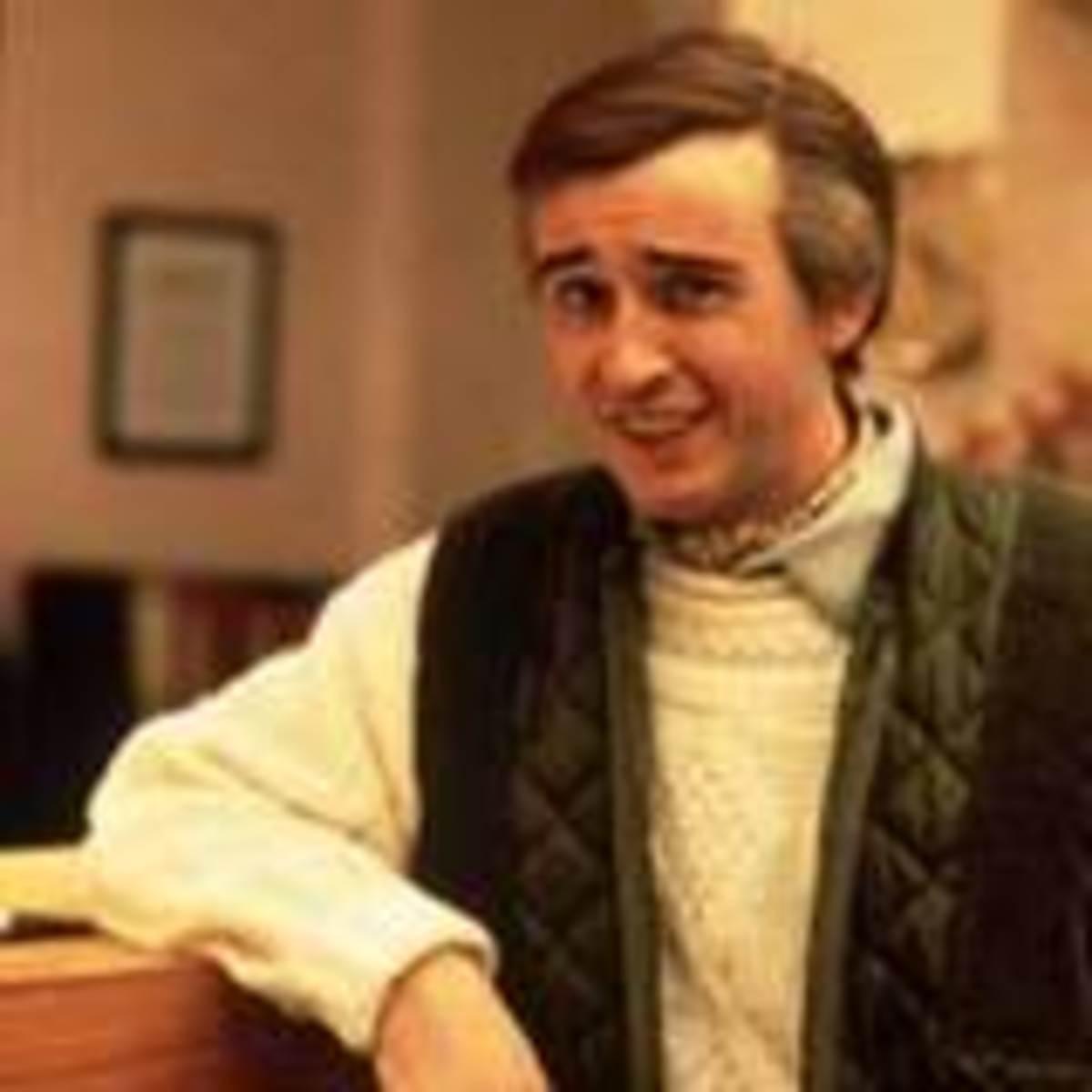 """""""A-ha"""", Alan Partridge, the brilliant Steve Coogan."""