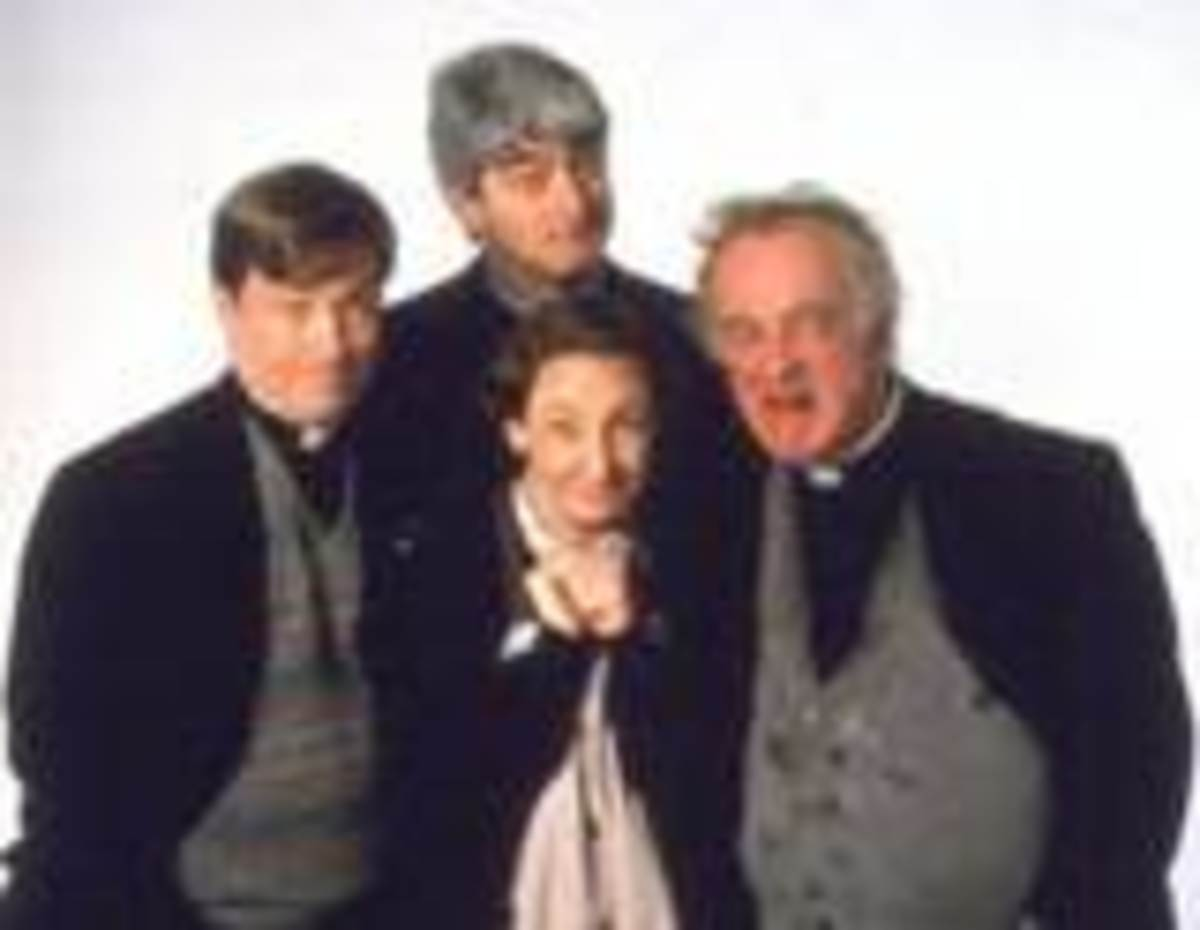 Father Ted cast.