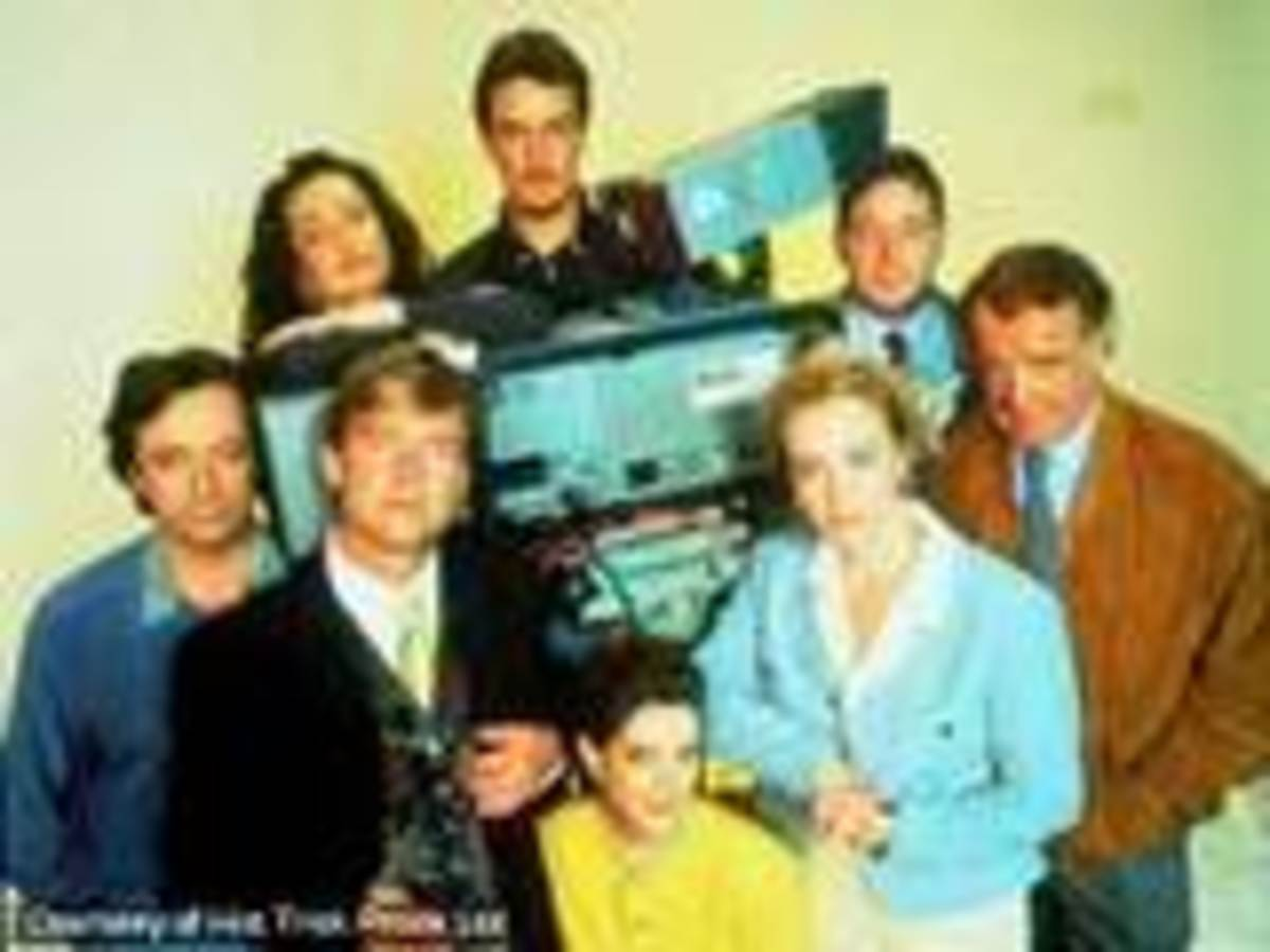 Drop the Dead Donkey Cast