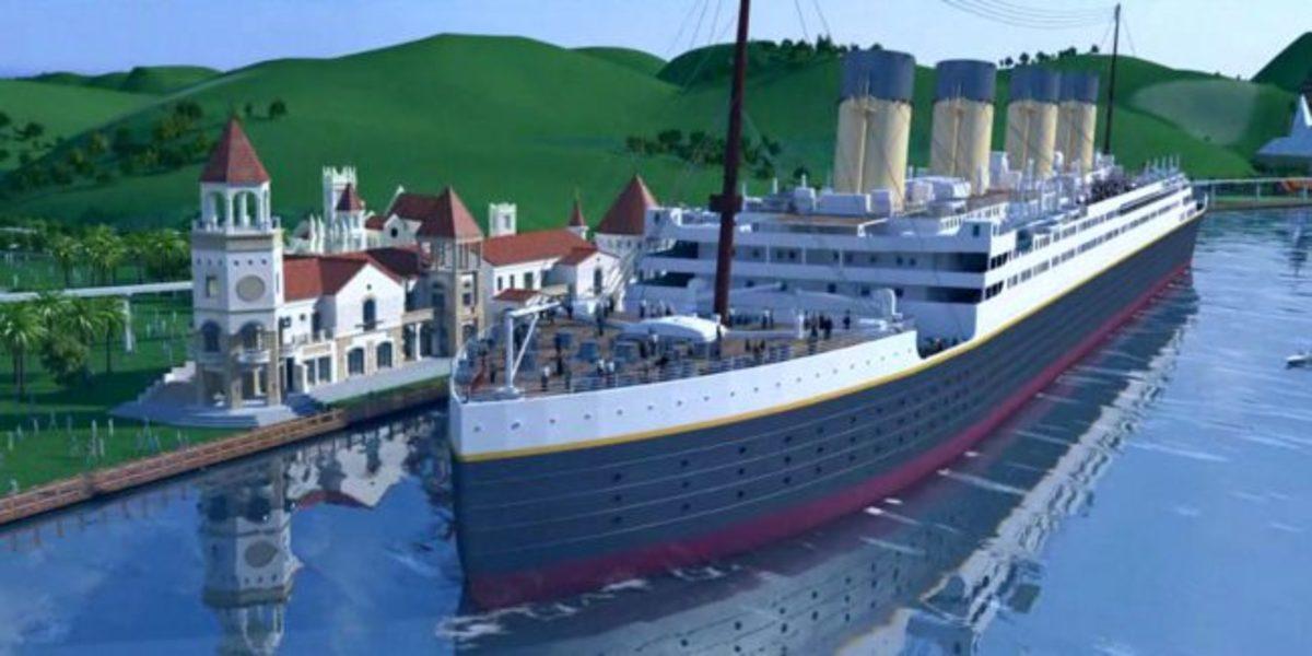 Titanic 2 Baufortschritt