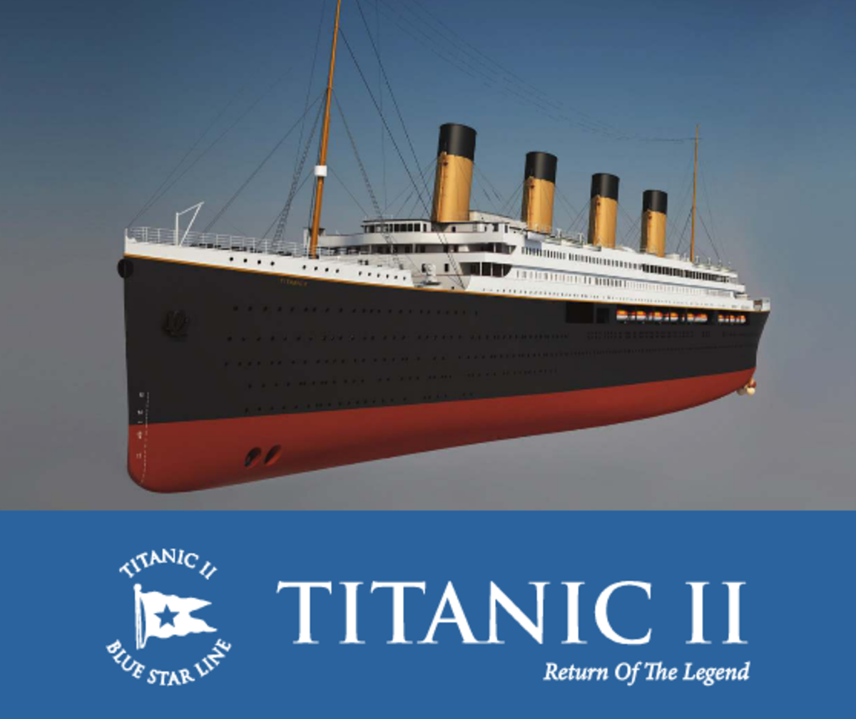 Would you sail on Titanic 2?
