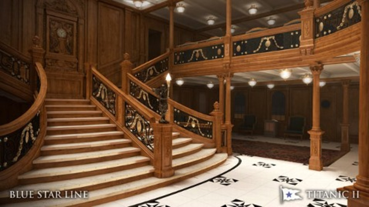Rebuilt Grand Staircase