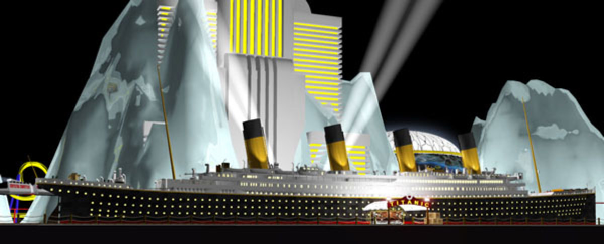 Titanic Resorts proposed Titanic Hotel & Casino.