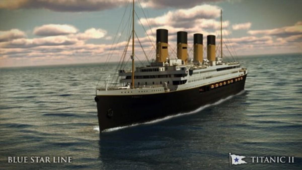 Rebuilt Titanic 2