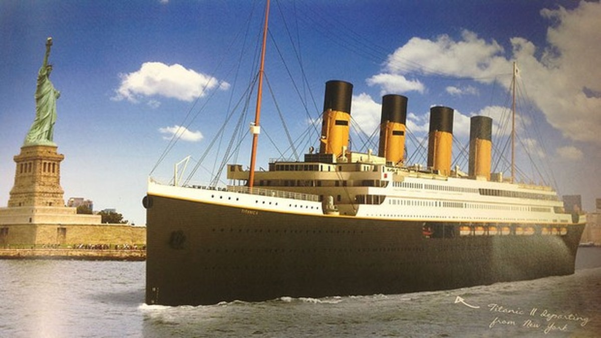 Blue Star Line's rendering of Titanic II.