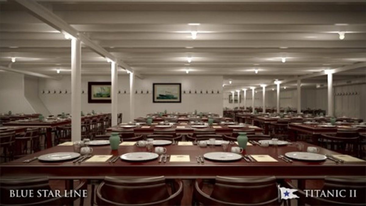 Rebuilt 3rd Class Dining Room