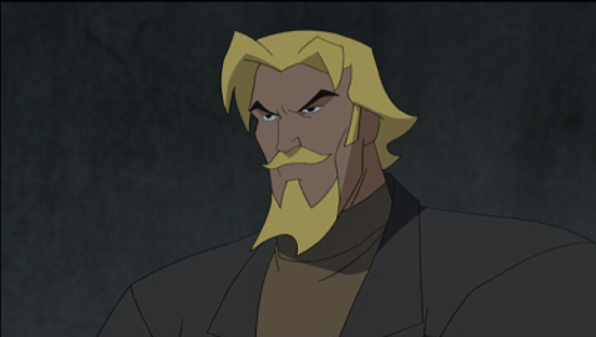 Oliver Queen from the cartoon Justice League Unlimited