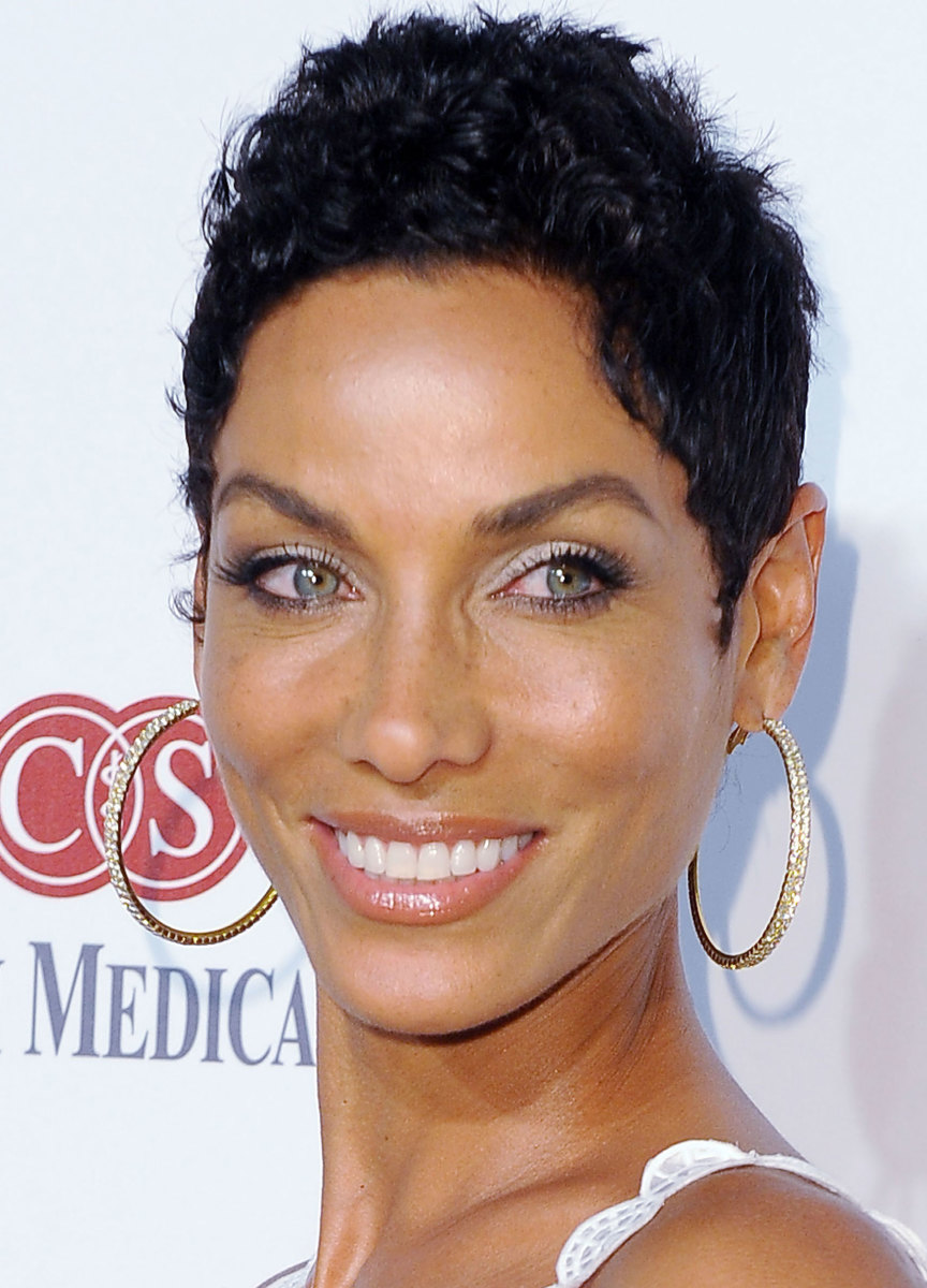 Nicole Murphy - Black Woman with Blue Eyes
