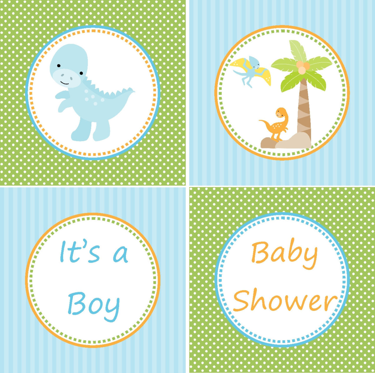 Dinosaur Baby Shower Theme