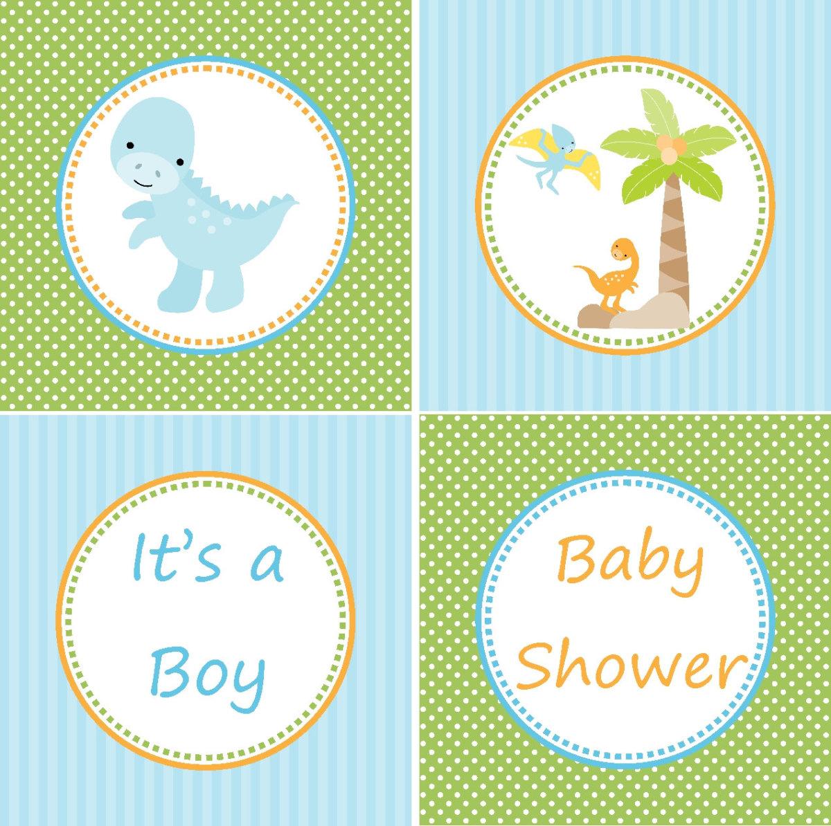 dinosaur baby shower theme