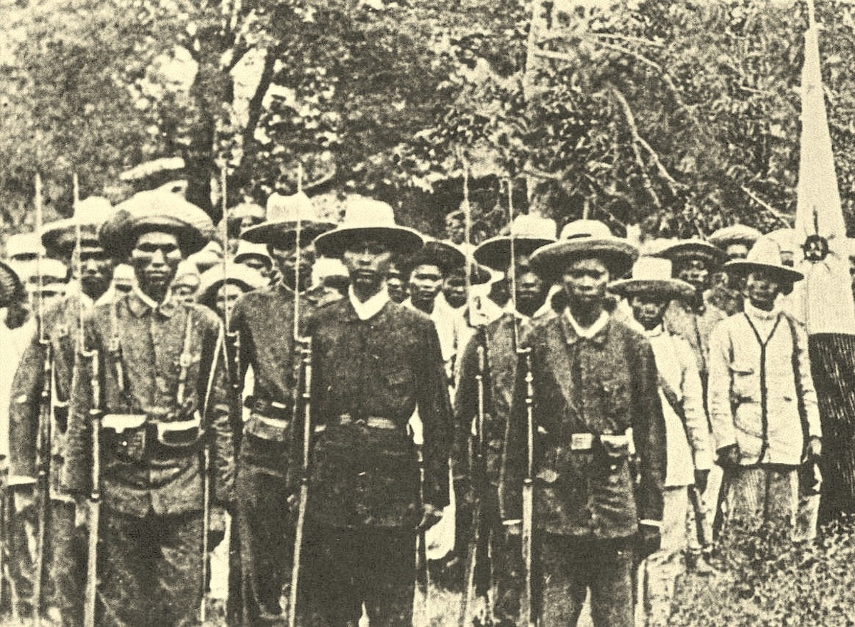 Katipuneros in 1898