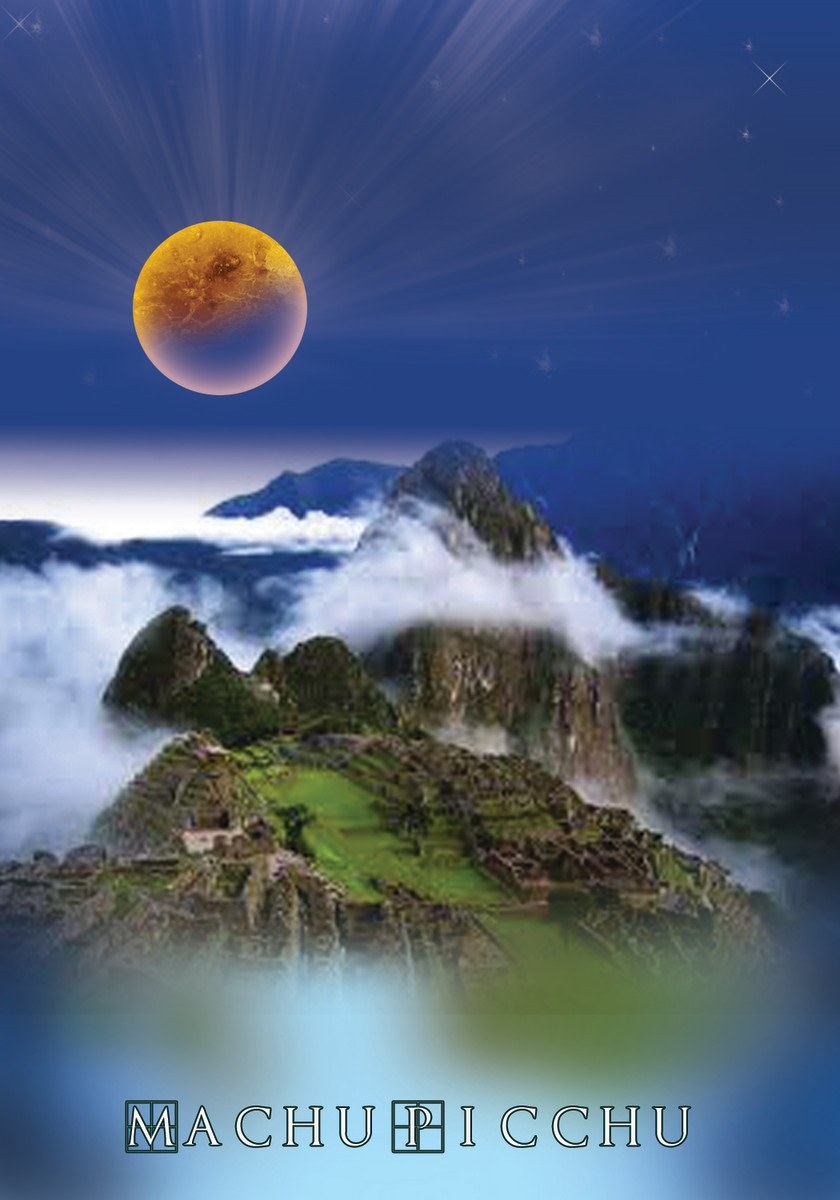 Machu Picchu with Nibiru over head.