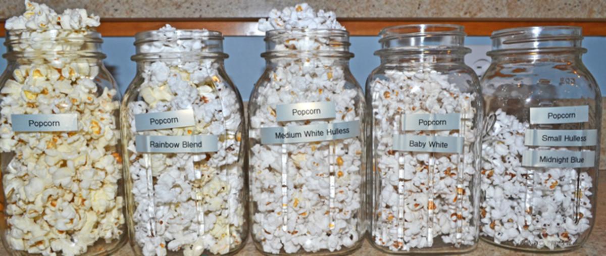 Varieties of Popped-Popcorn