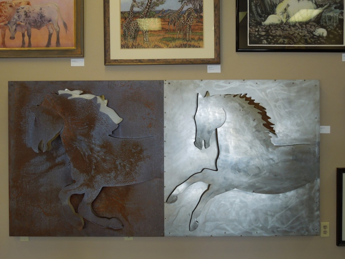 """Storm Ponies"" by Hollan Hollowsworth, in heavy metal"