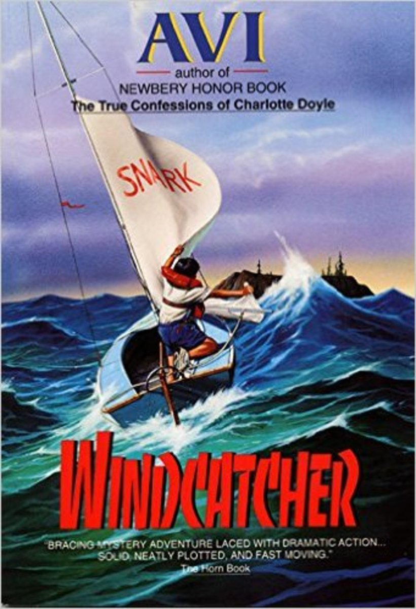 Windcatcher by Avi - Book images are from amazon.com.