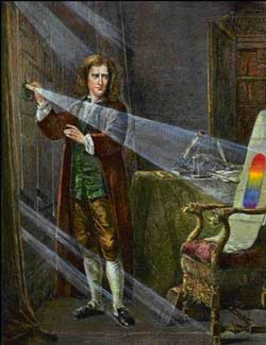 Sir Isaac Newton & Optics