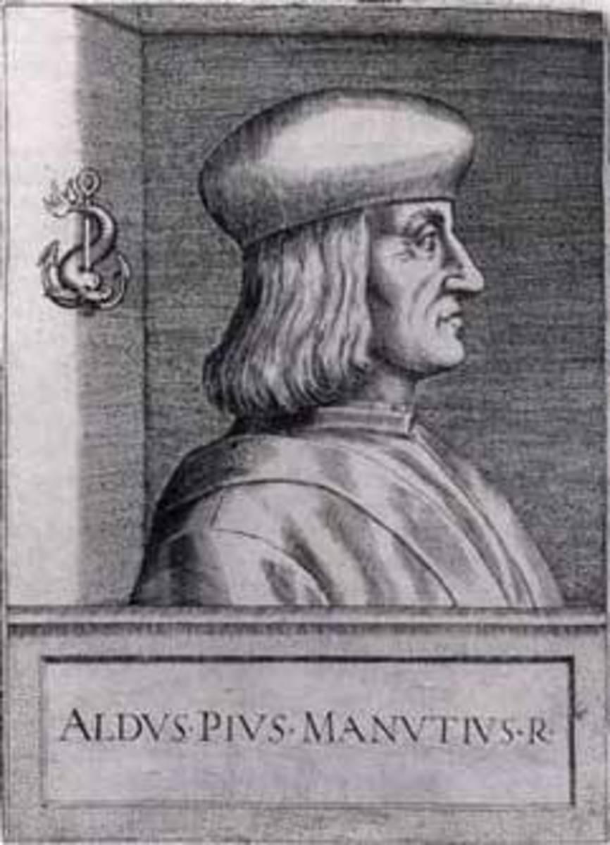 Aldus Pius Manutius ( 1449- 1515)