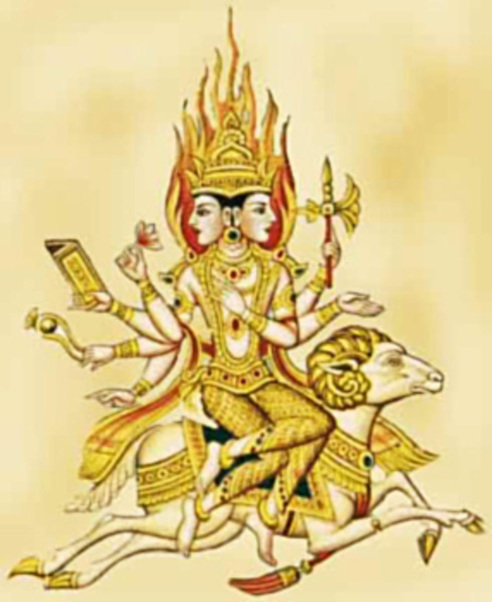 Agni- The Hindu God of fire