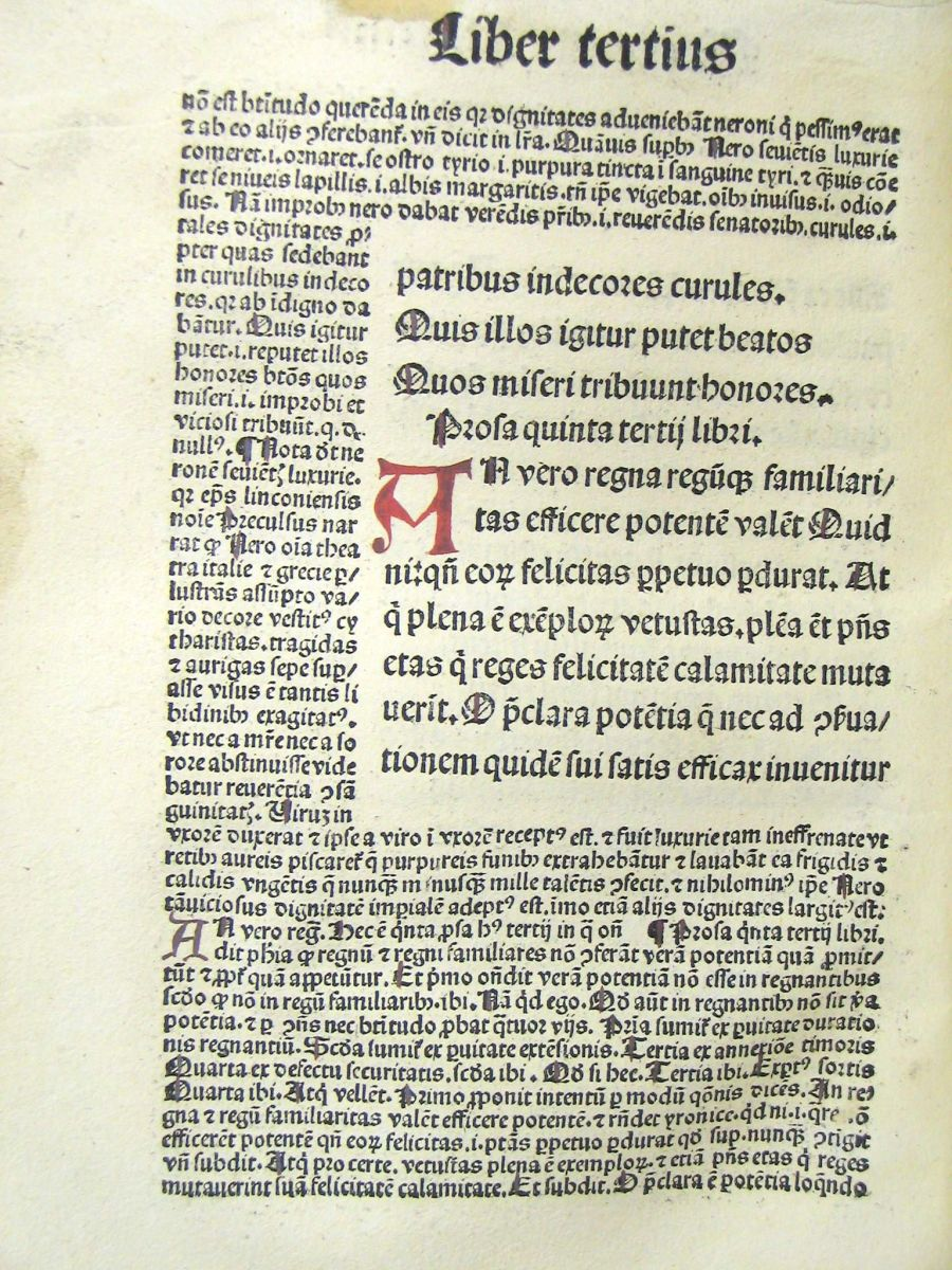 a Pre -Aldus  book with old fashioned typefaces