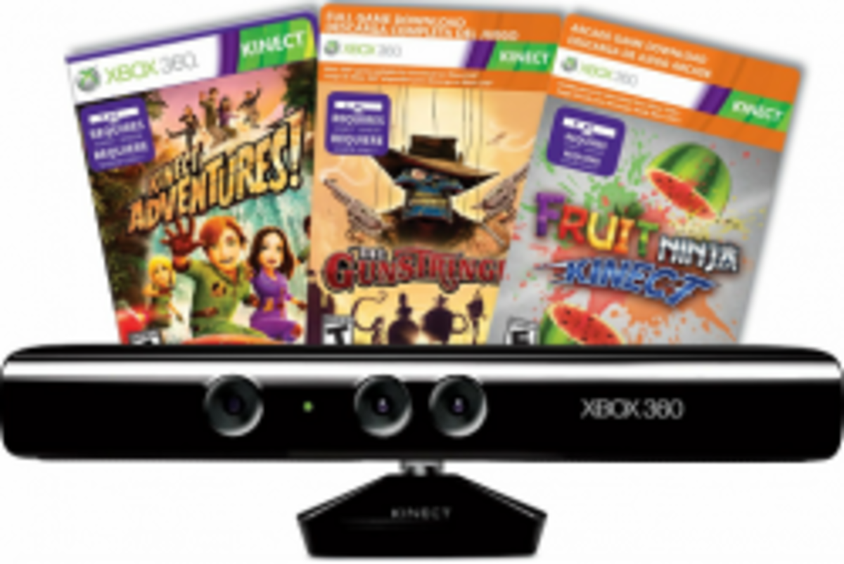 Best Xbox 360 Kinect Games 2015