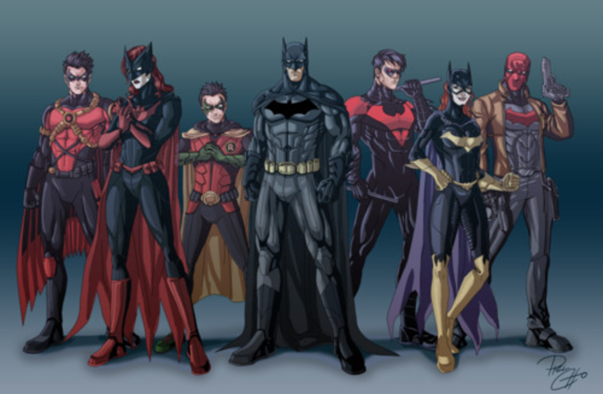Batman Family: The Batman Family of The New 52