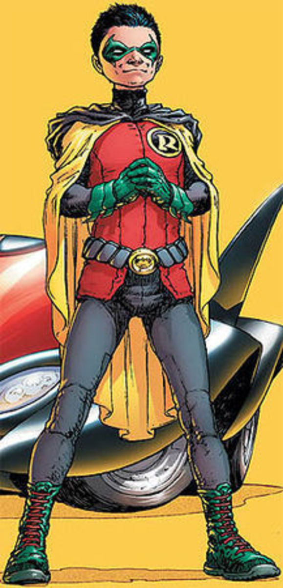 Damian Wayne as the current Robin