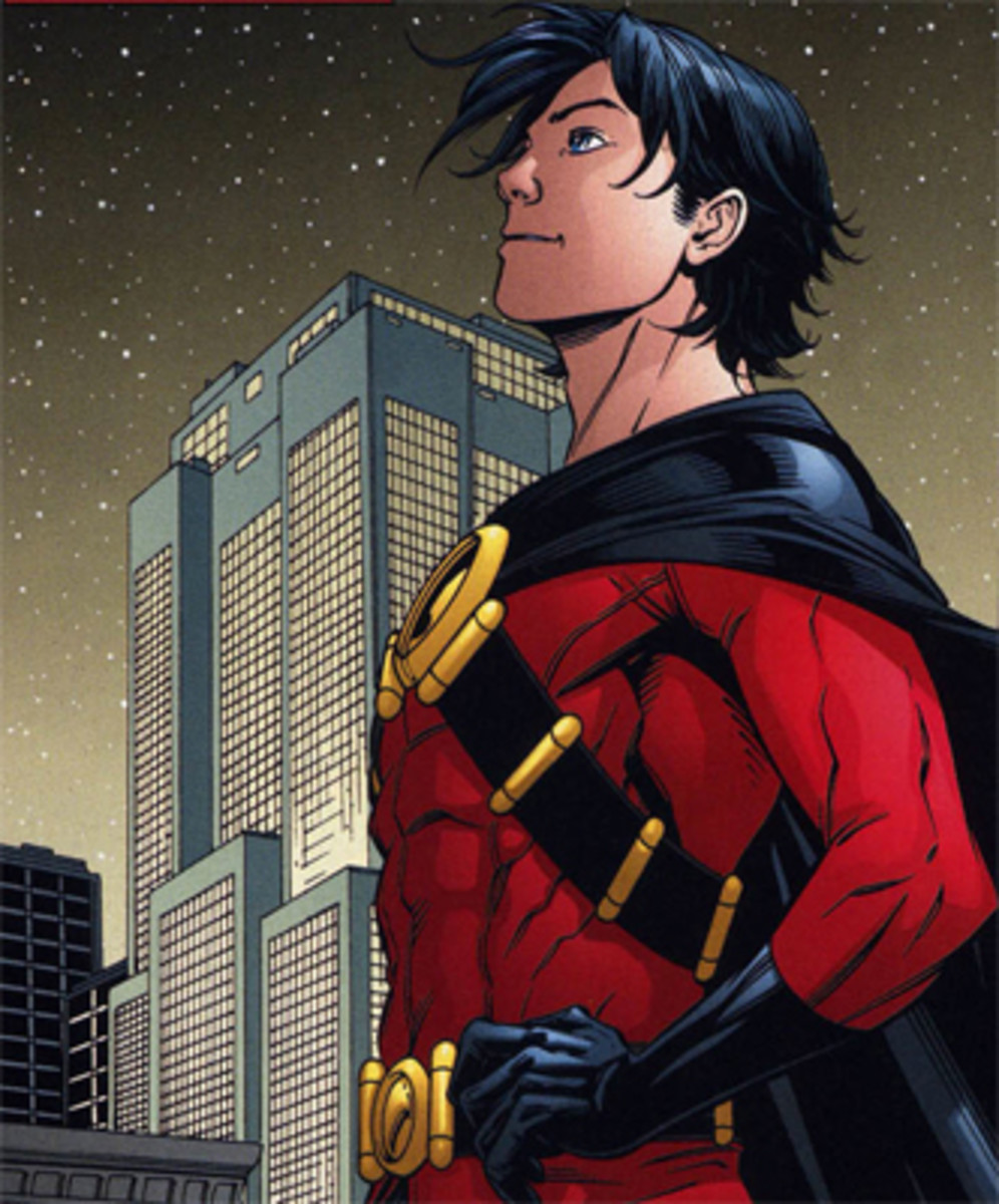 Tim Drake as Red Robin
