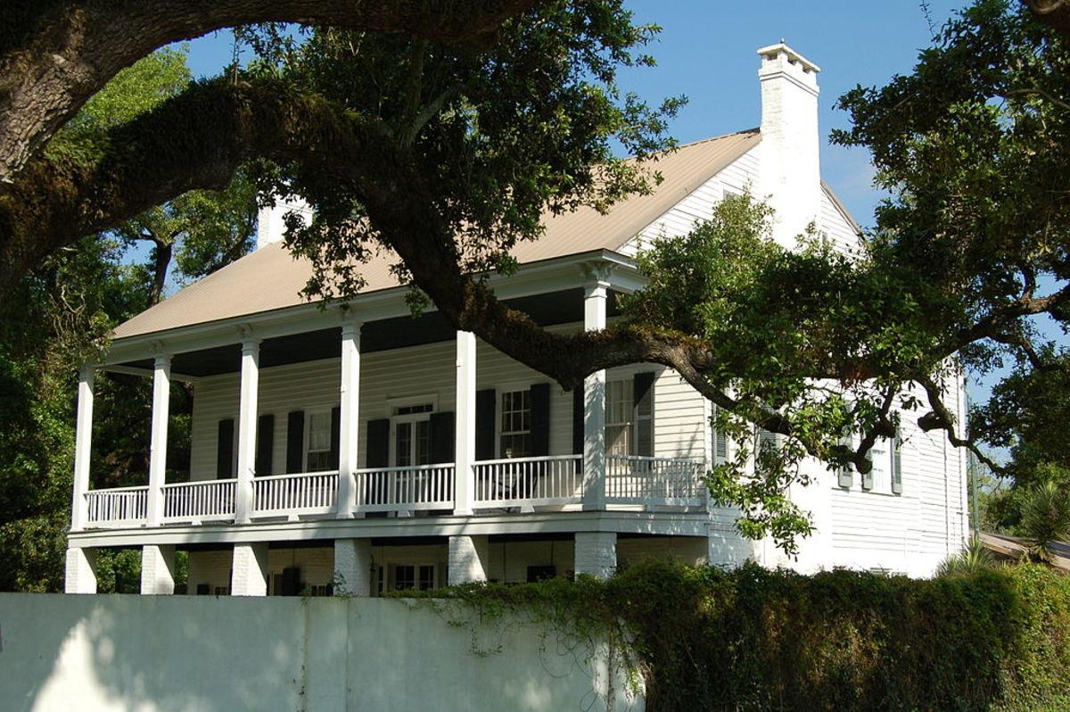 Tally-Ho Plantation House in Bayou Goula