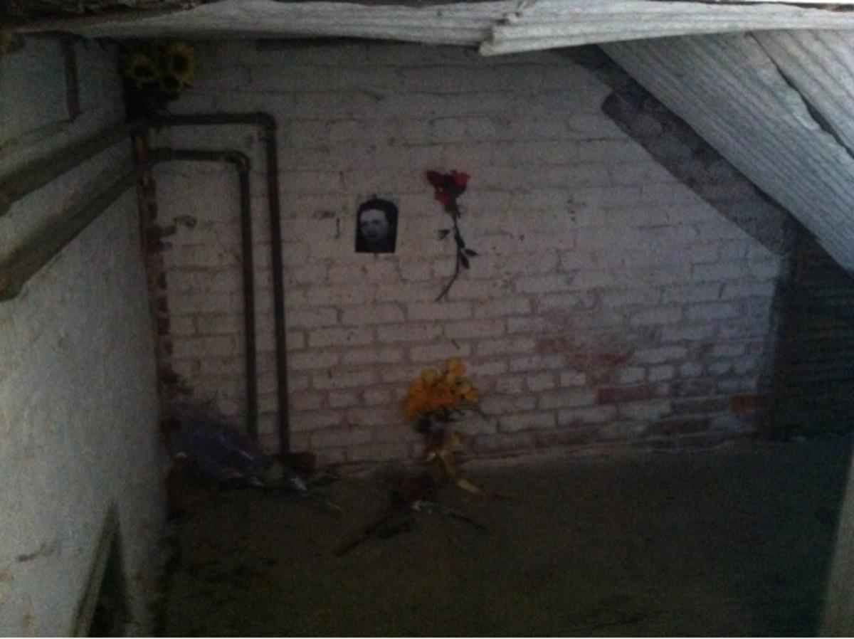 The room where Anna Corbin was killed.