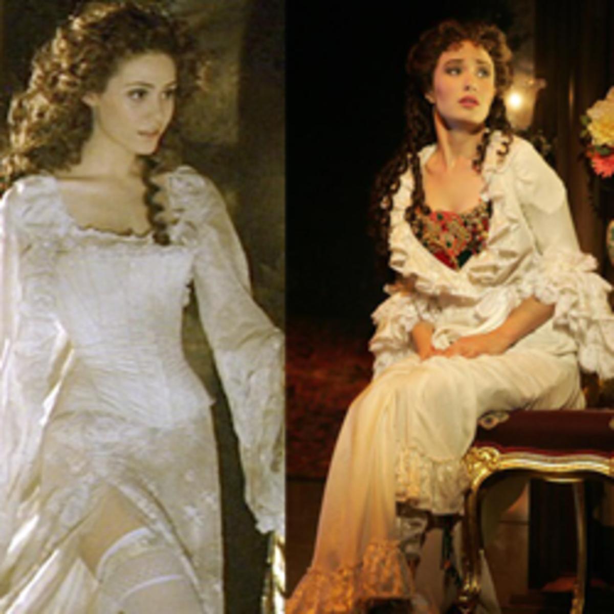 Christine Daae Dressing Gown: Christine Daae Costumes