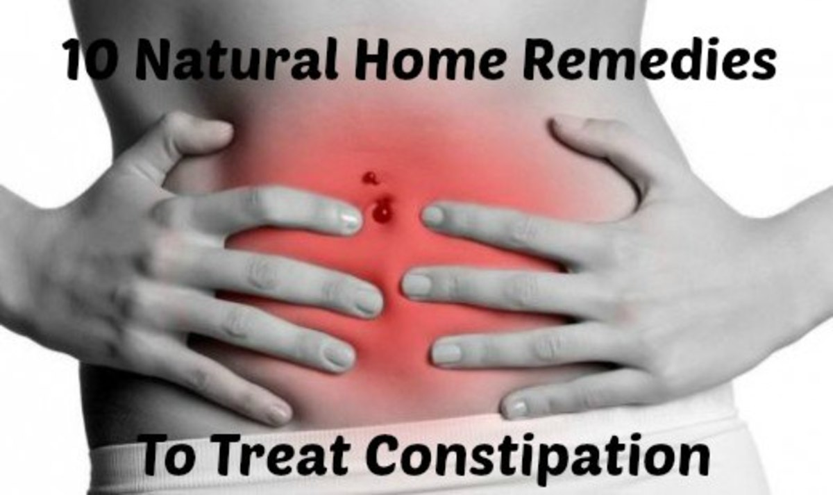 How to Get Rid of Constipation - 10 Natural Home Remedies