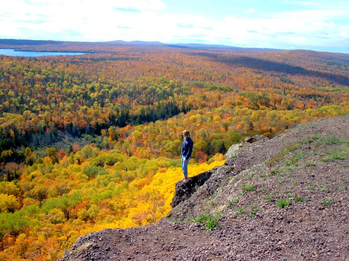Brockway Mountain near Copper Harbor, Keweenaw Peninsula, Michigan