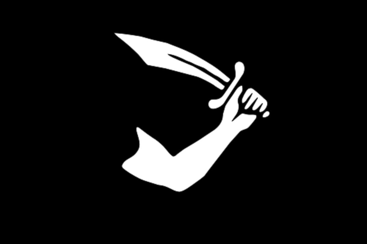 Pirate flag of Thomas Tew