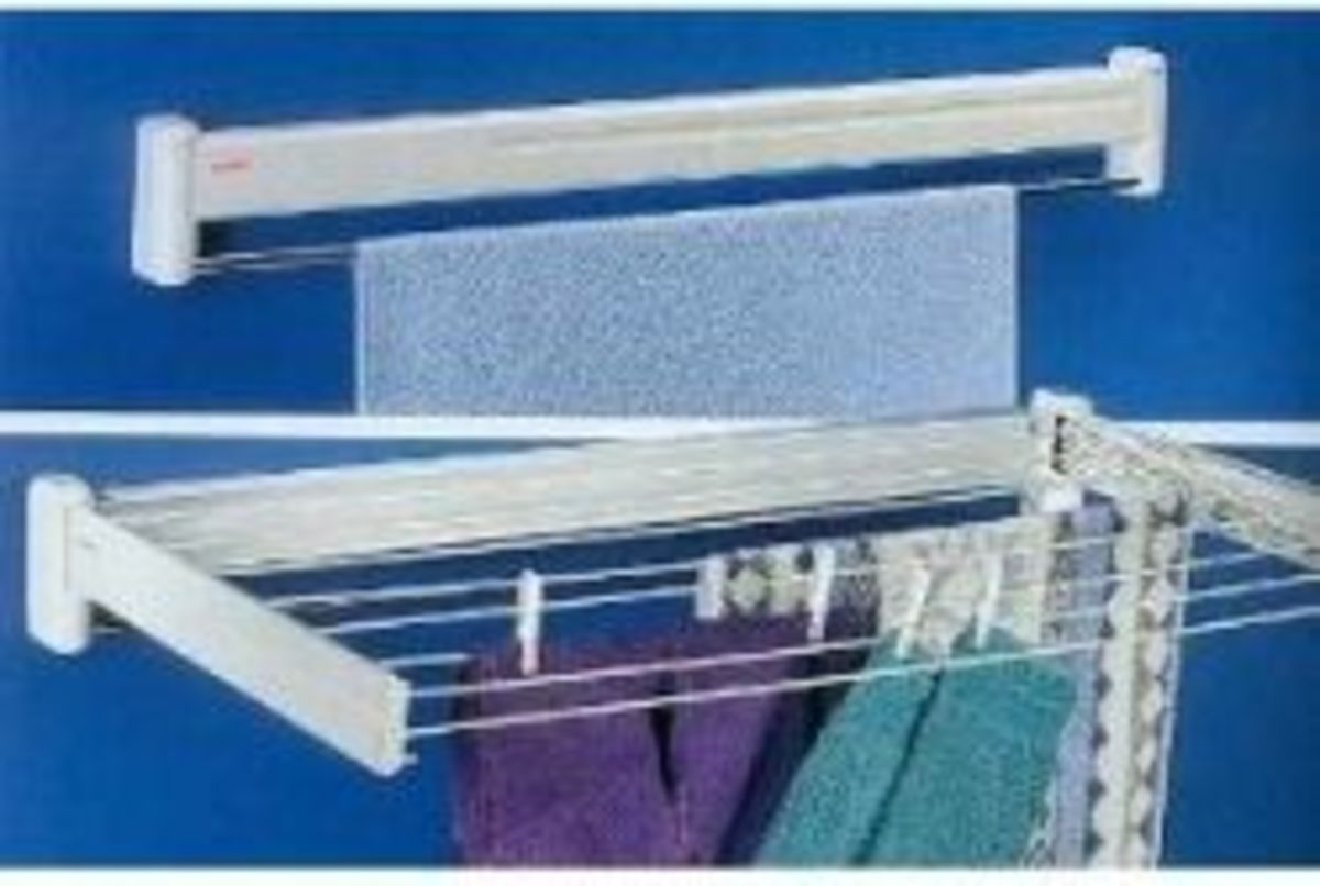 Telegant Telescoping Drying Rack