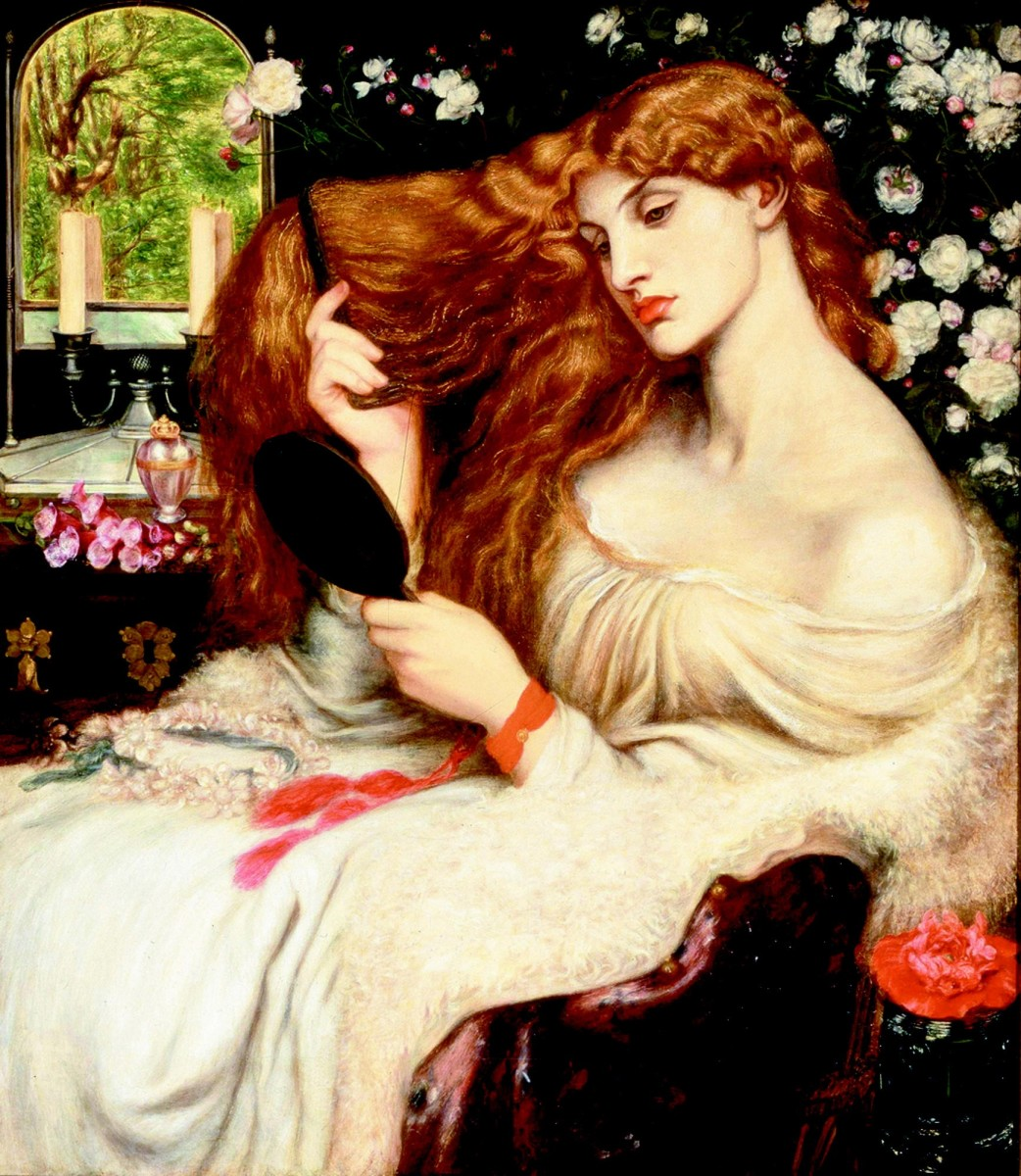 """Lady Lilith,"" by Dante Rosetti."