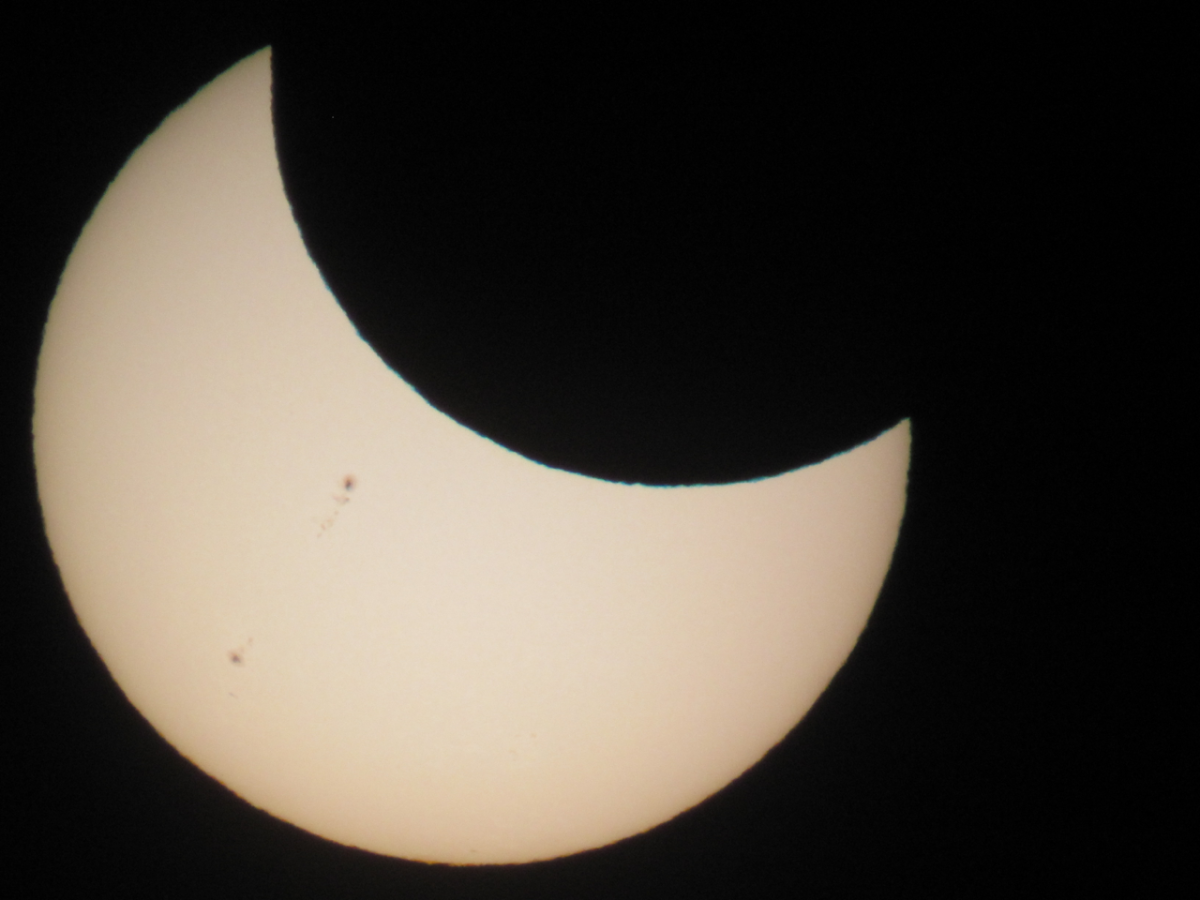 Partial Solar Eclipse May 20, 2012