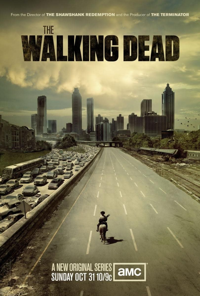 The Walking Dead season one promotional poster.