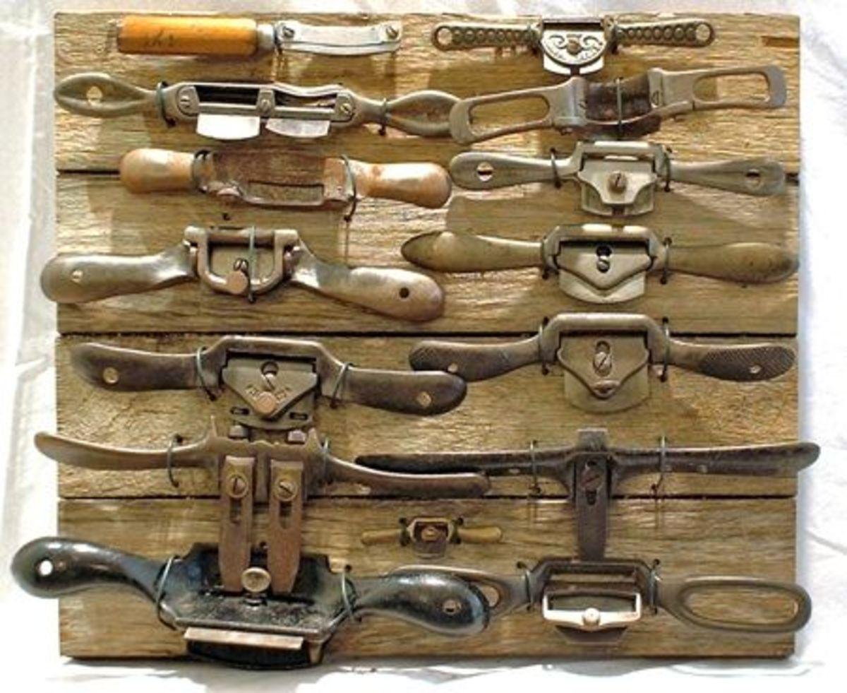 Vintage spokeshaves