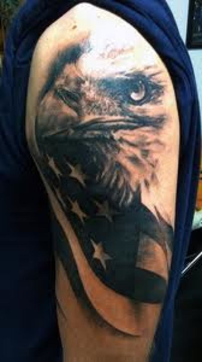 americanflagtattoodesigns