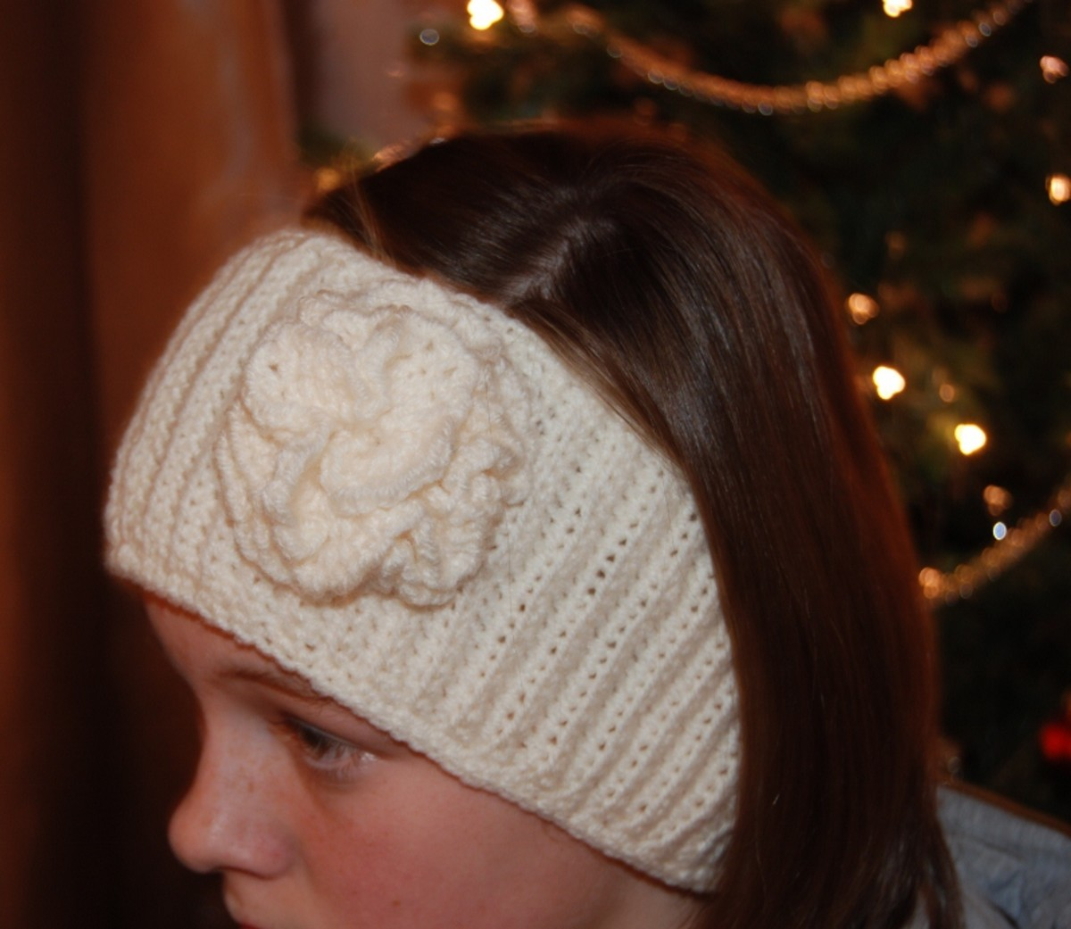 Free Crochet Pattern Headband With Flower : Free Crochet Patterns for Baby Headbands with Crochet Flowers