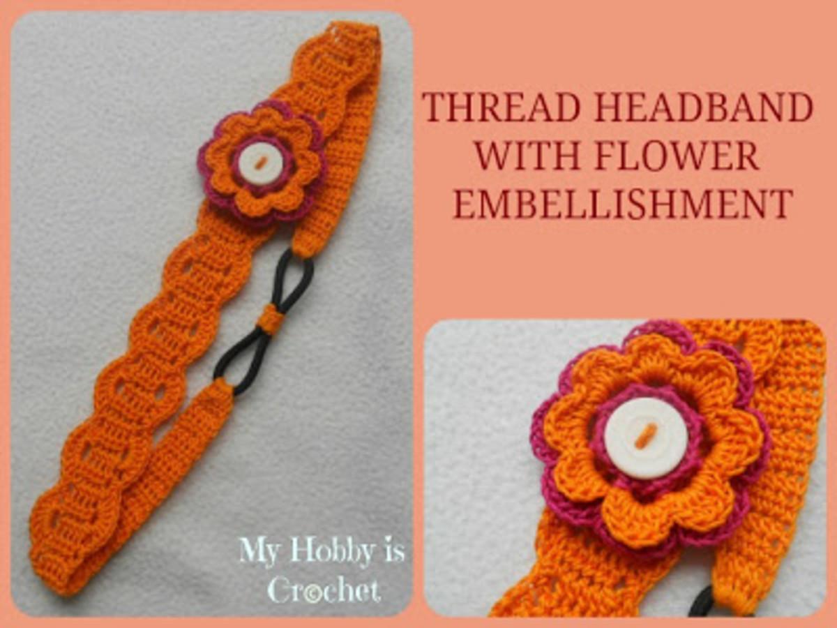 thread Elasticated Headband