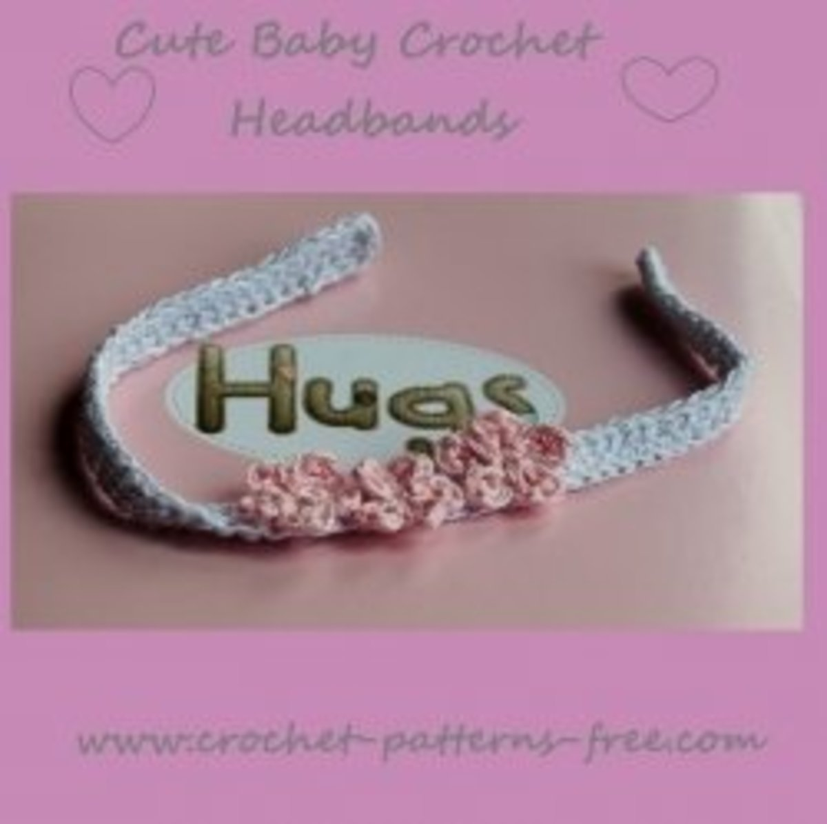 Free crochet patterns for baby headbands with crochet flowers hubpages mightylinksfo