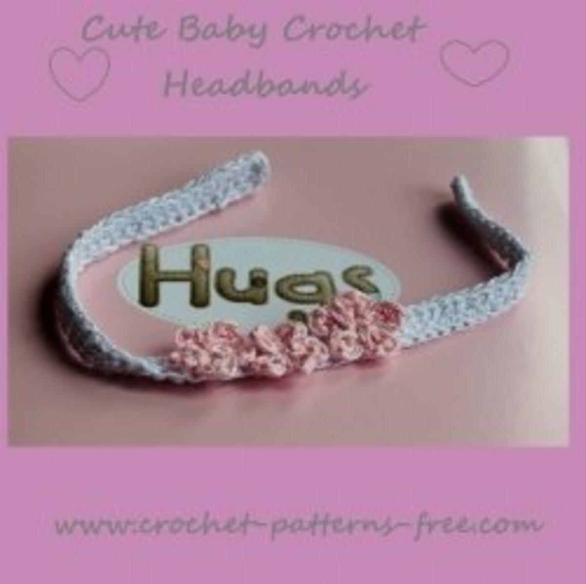 Cute Baby Crochet Headband Patterns
