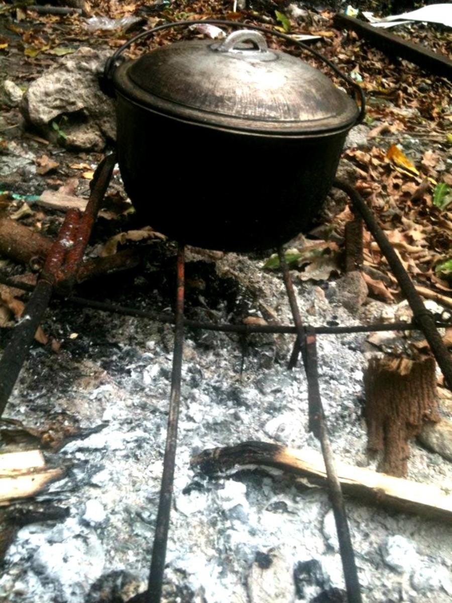 "Photo Credit: my sister Missy Torralba ""Dutch oven"" (kaldero)"