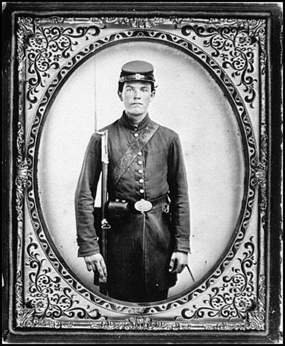 Unknown young Union Army soldier from Ohio,