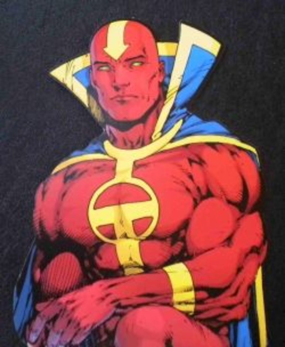 Red Tornado DC Comics Superhero